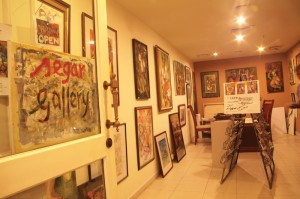 A collection of abstract, cubist and figurative paintings at Segar Gallery